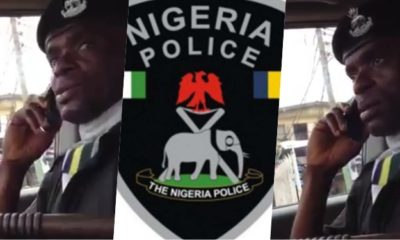 Police Office Caught On Tape Extorting Driver of N25k (Video)