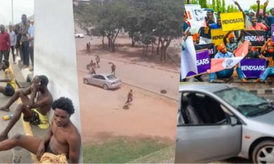 'I Was Paid 1500 Naira To Attack #EndSARs Protesters' - Thug Confesses