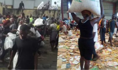 Lagos state govt reacts to looting of COVID-19 palliative warehouse