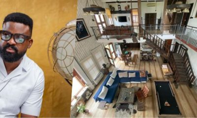 Actor, Kunle Afolayan Shows Off Art-Inspired Interior of His Home