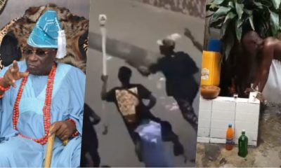 Oba of Lagos charges the 'gods' on looters of the king's staff