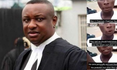 Festus Keyamo Blames Death of His Driver on Protesters, Video Evidence Says Otherwise