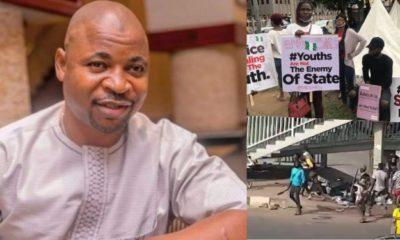 MC Oluomo Denies Having Hand in #EndSARs Protesters' Attack
