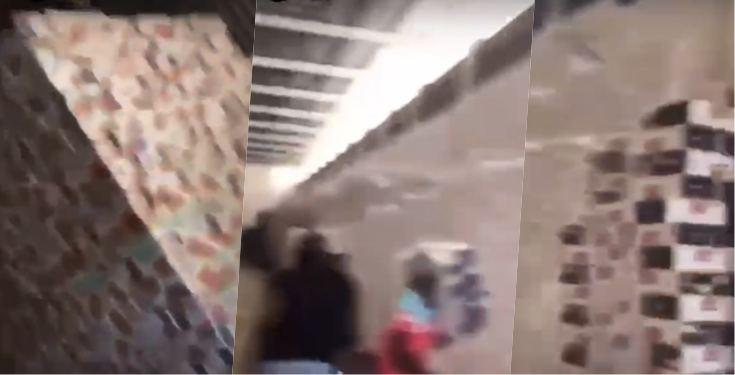 Warehouse Full of Covid-19 Palliatives looted in Osun (Video)