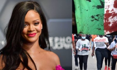 Lekki Shooting: Rihanna Lends Voice To #EndSARS Protest