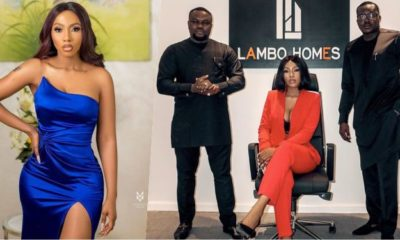 Mercy Eke celebrates progress of new company, Lambo homes