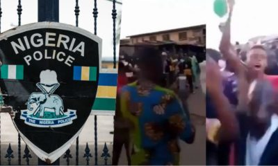 Agugu Policemen Commends Youths For Protecting Police Station From Thugs (Video)