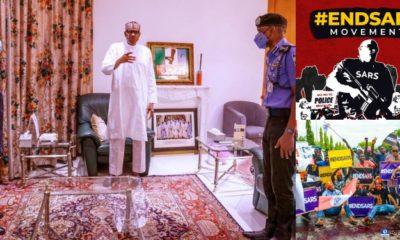president muhammadu buhari, prof yemi osinbajo, IGP Inspector general of police, #endsars endsars