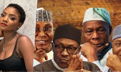 """Stop raining curses on Nigerian politician's children"" - Singer Simi"