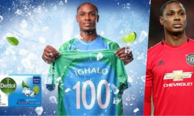 Odion Ighalo Dettol Cool