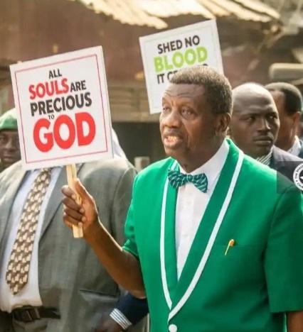 pastor adeboye endsars protest