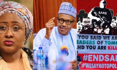 'Save the people' - Aisha Buhari Expresses In A Song To President Buhari (Video)