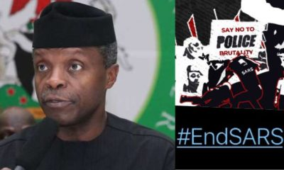 "#EndSARs: ""I Know That Many of You Are Angry"" - VP Osinbajo Finally Opens Up"