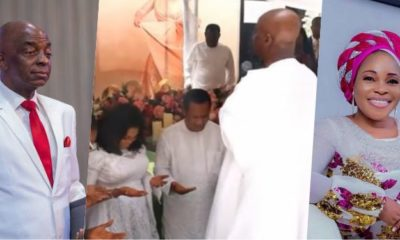 Bishop Oyedepo Surprises Tope Alabi On Her 50th Birthday (Video)