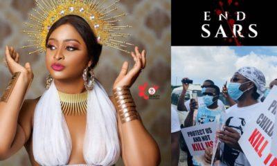 Etinosa Idemudia, #endsars protest