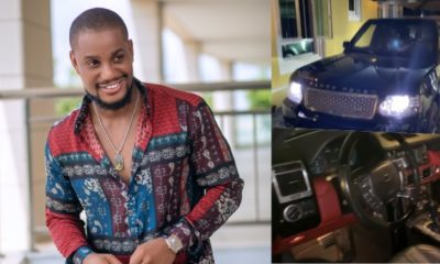 Alex Ekubo Gets Range Rover SUV As Surprise Gift From Friend