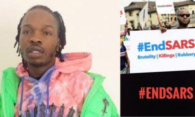 naira marley, #endsars protest