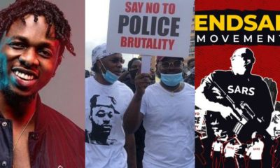 #EndSARs: No matter how many death threats, you can never silence me - Runtown