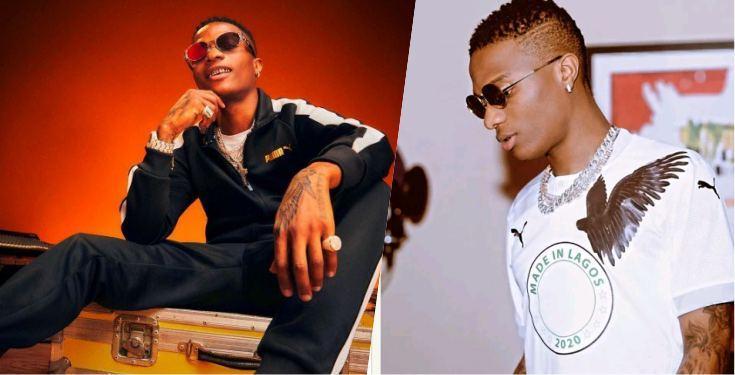 Wizkid Rocks 'Made In Lagos' Shirt Following Endorsement With Puma