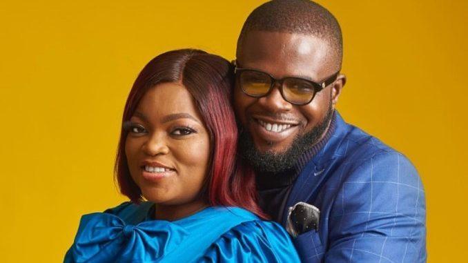 funke akindele and her husband