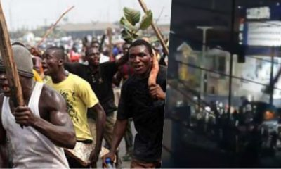 thugs Hoodlums Take Over Surulere After Looting AO Mall (Video)