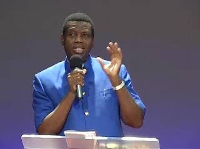 Pastor Adeboye on #EndPoliceBrutality campaign