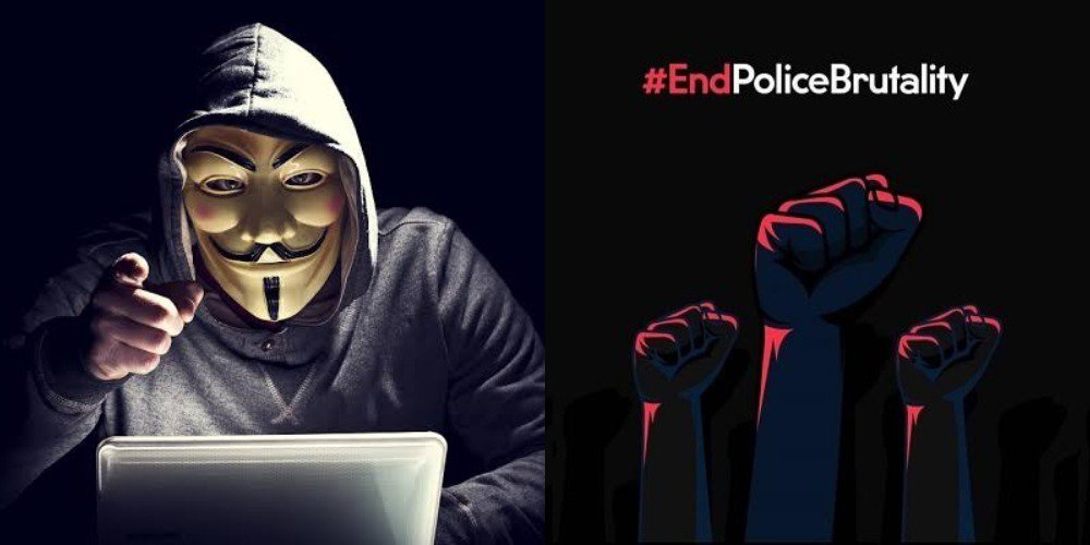 Anonymous hacks Police database