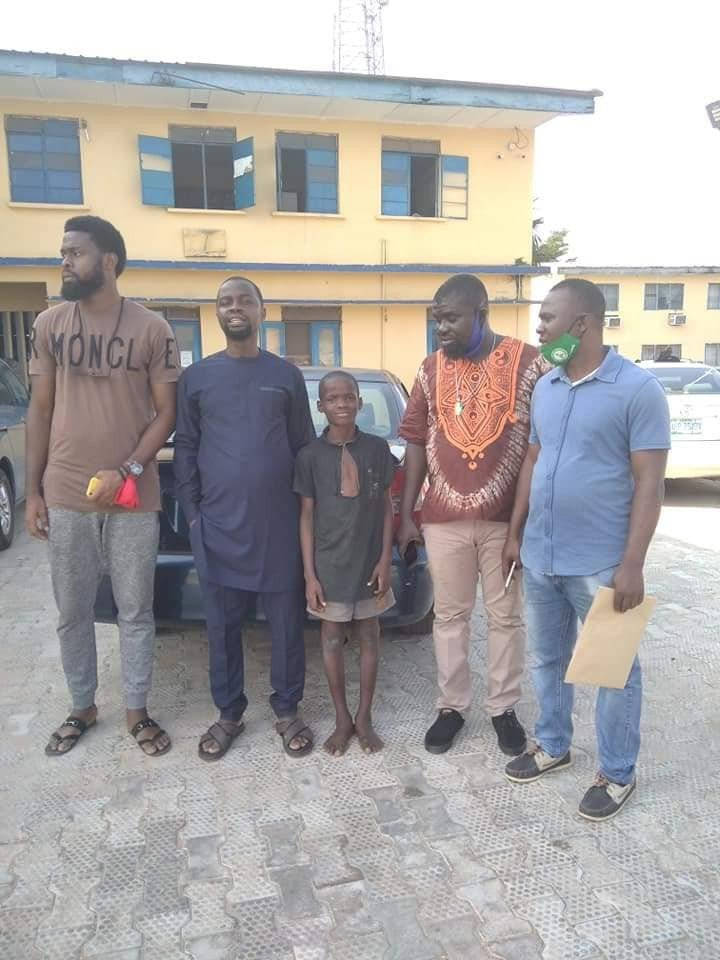 Boy arrested for declaring himself IGP