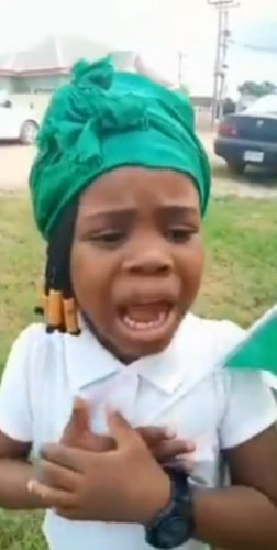 """I am Nigeria I need help"" - Little girl"