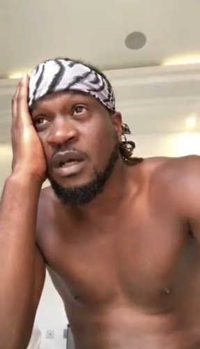 Journalist against Paul Okoye going shirtless