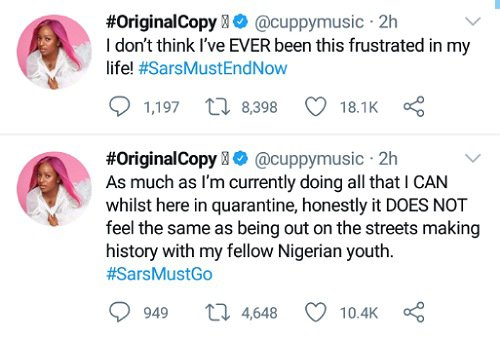 I've never been this frustrated – DJ Cuppy