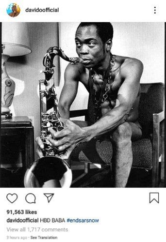 Nigerians celebrate Fela's birthday
