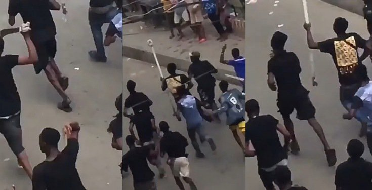 Hoodlums attack palace of Oba of Lagos