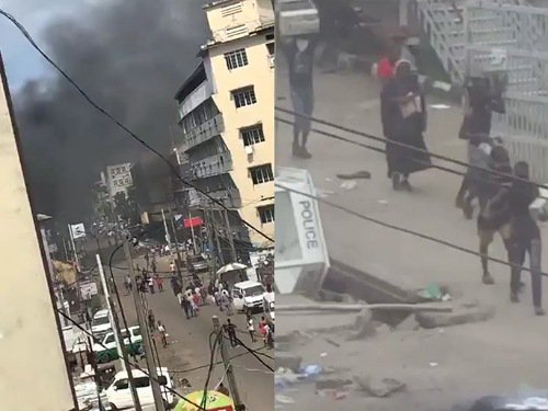 Hoodlums attack Court in Obalende
