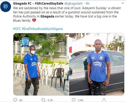 Fan Shot Dead By Police