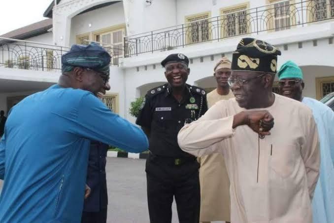 Tinubu visits Sanwo-Olu