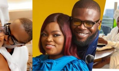 Actress, Funke Akindele In Loved-Up Vacation With Husband