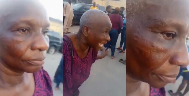 Police slaps woman