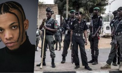Nigerians React As Tekno Suggests Increase In Police Salary To 250k