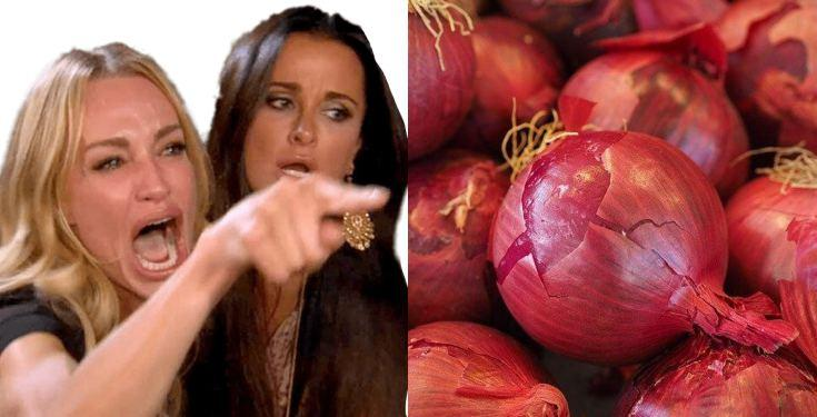 Nigerian lady laments over outrageous cost of 'onions'