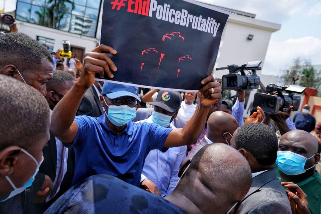 babajide sanwo-olu #endsars protest