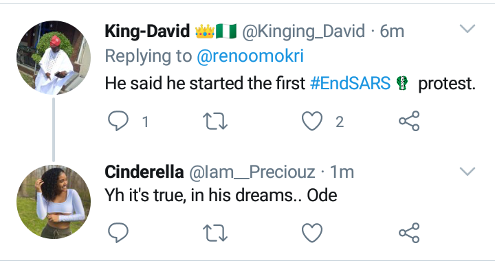 Sowore Claims He Started #EndSARS