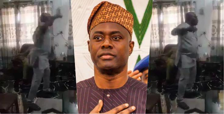 Angry politician lashes out on Gov. Seyi Makinde for 'Eating alone' while others suffer (Video)