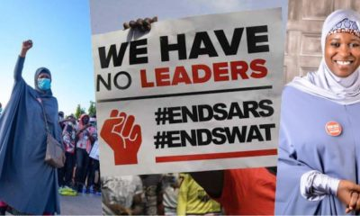 "#EndSARS: ""I am being cursed in mosques"" - Activist, Aisha Yesufu"