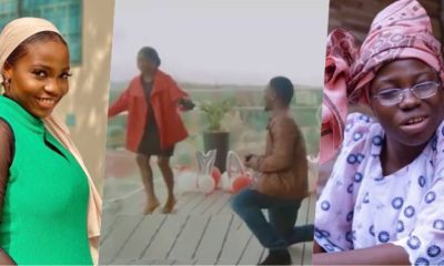 Moment Taaooma's boyfriend proposed to her in Namibia
