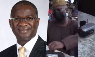 """Special agent Fashola"" - Nigerians reacts as Fashola finds hidden camera at Lekki shooting spot"