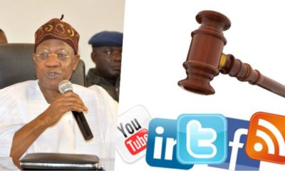 Nigerians reacts as Lai Mohammed calls for regulation of social media