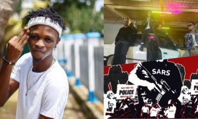 'Useless Youth Ambassador' - Nigerians blast Laycon For Shooting Music Video Amidst endsars Protest