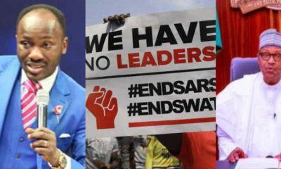 """Useless Speech, Wasted 12 Minutes"" - Apostle Suleman Lambasts Buhari Over #EndSARS Speech"