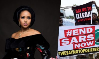 """""""Some of you think with your asses"""" - Bauchi Governor's daughter blows hot over silence on EndSARs Protest"""